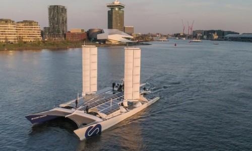 İşte deniz suyu ile çalışan Gemi